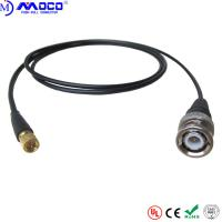 China Durable Push Pull Cable Assemblies Microdot To BNC Cable For NDT System on sale