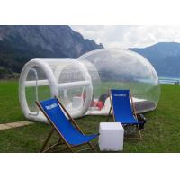 China Outdoor Single Tunnel Inflatable Bubble Tent Camping Family Stargazing For Rent wholesale