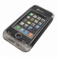 China Earphones and Volume Button Workable Waterproof Slim Case for iPhone 4/4S, with 8m Depth, Waterproof wholesale