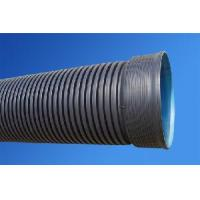 China HDPE Double Wall Corrugated Pipe for Sewage wholesale