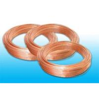 China Plated Low Carbon Refrigeration Copper Tube , Bundy Tube 8 * 0.6 mm wholesale