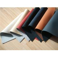 China 70% Cow Leather Car Upholstery Fabric With Magnolia / Ivory Color wholesale