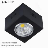 China IP42 black indoor surface COB 7W Ceiling down light&LED Grille light wholesale