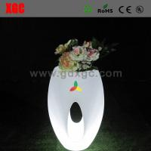 China Colors Changing Waterproof PE Material LED Flower Pots,Decor Flower Pots wholesale