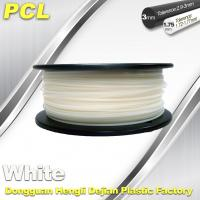 China Low Temperature Filament , PCL fFilament , 0.5kg/ roll ,1.75 /3.0mm. wholesale