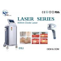 China Permanent 808nm Diode Hair Removal Laser Machine Spot Size 12*12mm With Germany Bars wholesale