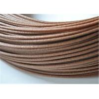 China Good Bendability Wood Filament For 3D Printing 2.85mm , Dark Brown wholesale