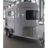 China Australian Standard Best Quality 2 Horse Angle Load Standard Horse Float Made In China wholesale