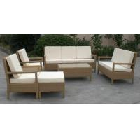 7pcs modern garden wicker furniture