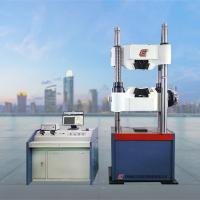 China WAW-1000C Hydraulic UTM Universal Testing Machine With Worm Gear System For Bolt Tensile Strength Test wholesale