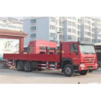 Quality Cargo Heavy Duty Truck 266 / 290 hp , Comercial Cargo Truck ZZ1257N4641W for sale