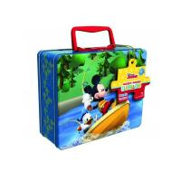China Disney Mickey Mouse Puzzle Tin with Handle wholesale