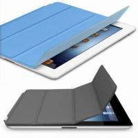 China Smart Case for New iPad, Available in Various Colors, Customized Designs are Welcome, 100pcs MOQ wholesale