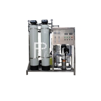 China FRP Pre Filters 500LPH Reverse Osmosis Water Treatment Machine on sale