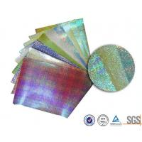 Quality Customerized Pearl rainbow wrapping paper for bouquets , Iridescent gift wrap for sale