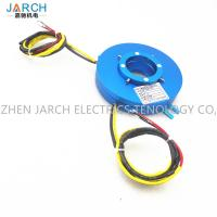 China Electrical Platter Slip Ring Transmitting Rotary Electric Power Flat Type Hole Size 100mm wholesale