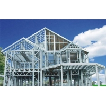 Buy cheap Q235B Q345B Steel Frame House Kits , ISO3834 Prefab Metal House Kits from wholesalers