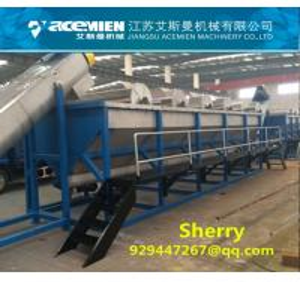 China PP PE plastic woven bagplastic film recycling machine washing machinery washing line wholesale