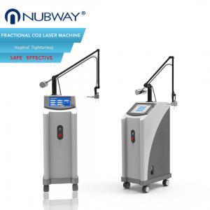 China Ultra Pulse Co2 Fractional Laser Skin Tightening Machine 100um - 2000um Spot Size wholesale