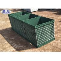 China Galvanized Gabion Box Geotextile Lined Feature For Preventing Explosion wholesale