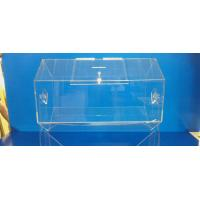 China Rotating Acrylic Lottery Drum Lucite Game Display Box Eco-Friendly wholesale