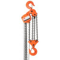 China 10T Manual Chain Block Orange Steel For Warehouse Lifting Use wholesale