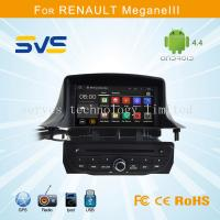 China Android car dvd player GPS navigation for Renault Megane 3 III with A9 chipset quad core wholesale