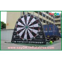 China PVC Tarpaulin Inflatable Sports Games , Custom Advertising Inflatables Dart Board on sale