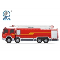 China CVJP20C1 Multi Functional Water Tanker 8x4 Fire Fighting Trucks on sale