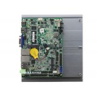 China Onboard Intel® i3 CPU 3.5 inch 6 COM Fanless industrial Embedded mainboard support 1080p display wholesale