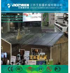 China plastic pvc wave roofing tiles/plate/sheet production line wholesale