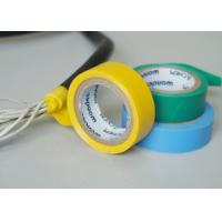 China Vinyl Electrical Insulating Heat Resistant Tape , Blue PVC Masking Tape wholesale