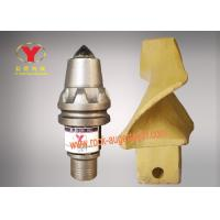 Color Customized Auger Teeth Replacement , Betek Teeth For Foundation Drilling Machine