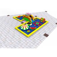 China Multi Functional Kids Inflatable Playground , 14*12*3m Inflatable Play Place on sale