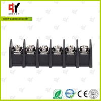 China 7.62mm Barrier Style Terminal Blocks with Wire Range 22AWG - 12 AWG wholesale