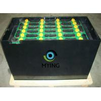 China Electric Fork Truck Battery For Forklift , Pallet Jack Battery 198mm Cell Width wholesale