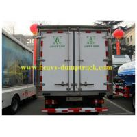 China Meat Transport Howo Refrigerated box truck 6x4 266HP 25 T , Ice Box Truck wholesale