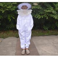 China Terylene Honey Bee Protection Suit Kids Beekeeping Protective Clothing With Round Veil wholesale