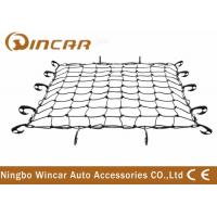 China Rubber 4x4 Off-road Accessories Adjustable Bungee Cargo Net With Tote Bag wholesale