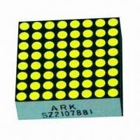 China 8 x 8 0.7 Inch Dot-matrix LED Display, Available in Red/Green/Yellow/Blue, for Indoor Use wholesale