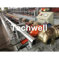 China 40mm, 60mm, 70mm, 80mm Octagon / Octagonal Pipe Roll Forming Machine With Fly Saw Cutting wholesale