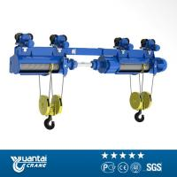 China YT 1ton To 20ton Cd/md Model Wire Rope Electric Hoist With Monorail Trolley on sale