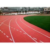 China Antimicrobial Healthy Temporary Running Track Flooring With Elastic Cushions wholesale
