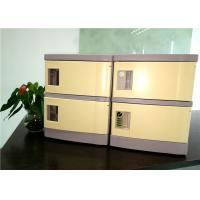 China 180*310*460  ABS Cell Phone Charging Locker With Four Code Lock For Secret Place wholesale
