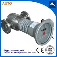 China High temperature heat conduction oil Oval Gear Flow Meter with low cost wholesale