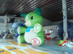 China Decoration Advertising 3.5m High Custom Shaped Balloons 0.18mm PVC Material wholesale
