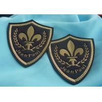 Quality 3D Embossed Logo  Pvc Patches , Custom Military Name Patches Various Shape for sale