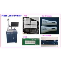 China PCB Board Laser Marking Machine 20W Laser Printing for Electronic Parts ABS wholesale