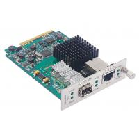 China 10G Manageable Media Converter Card SFP to RJ45 Frame Length 18000Bytes with 3R Repeater wholesale
