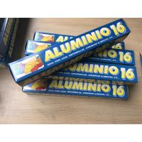 China Rolled Foil Wrapping Paper For Food , Household Aluminium Foil For Food Cooking on sale